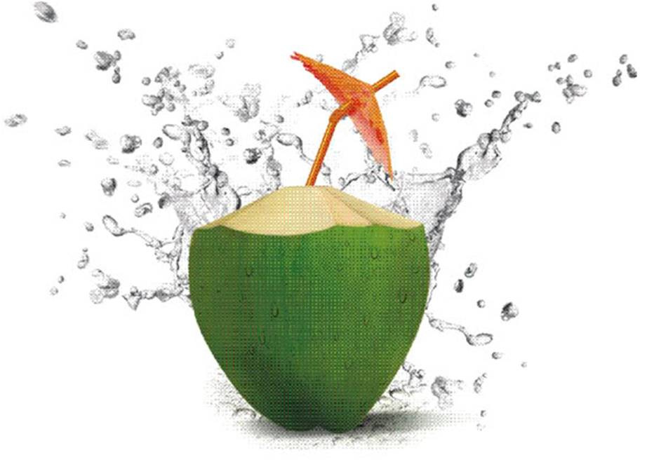 Coconut Water, A Natural Alternative To Manufactured Energy Drinks, And Great For Hydration At The Cellular Level