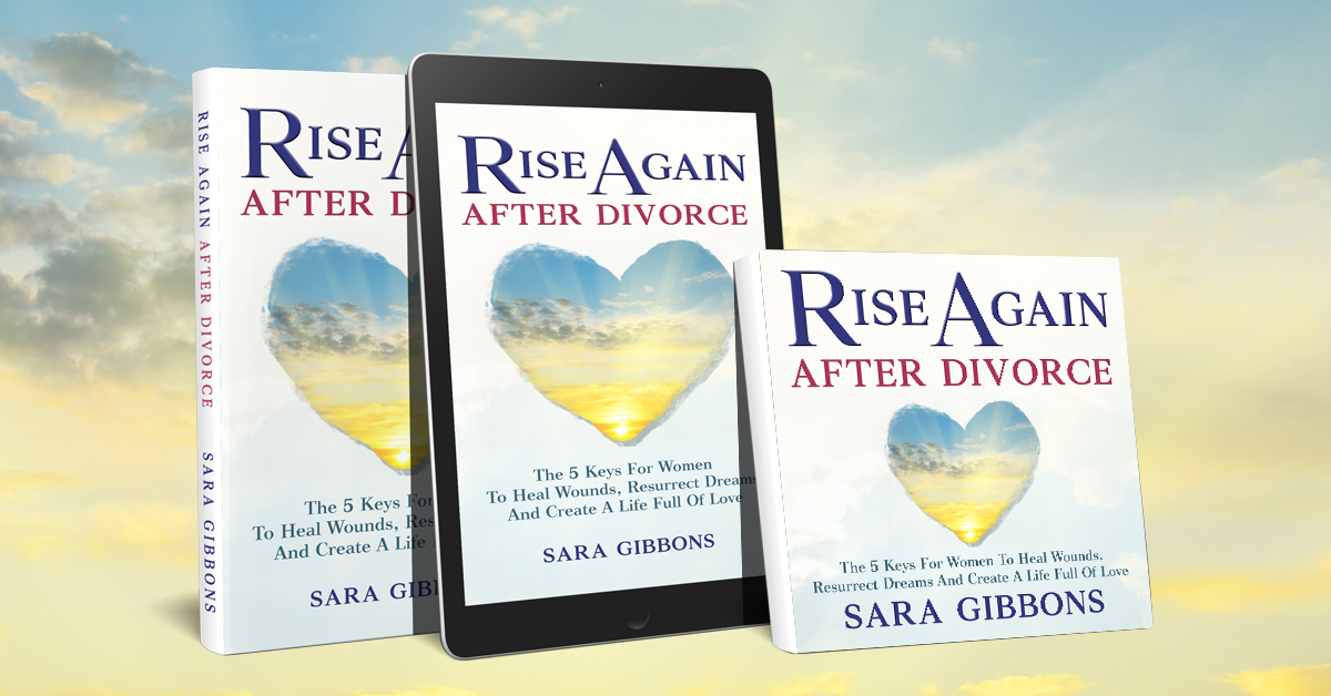 Rise again after divorce,Image of the paperback, ebook and audio